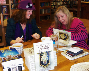 Author Lisa Fender celebrates book launch of Fated